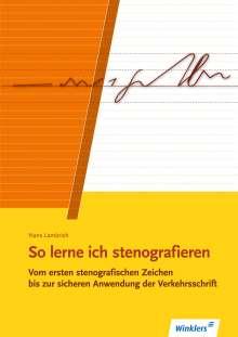 Hans Lambrich: So lerne ich stenografieren, Buch