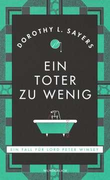 Dorothy L. Sayers: Ein Toter zu wenig (Neuausgabe), Buch