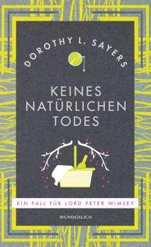Dorothy L. Sayers: Keines natürlichen Todes (NA), Buch