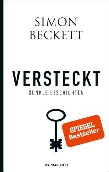 Simon Beckett: Versteckt, Buch