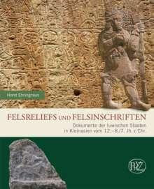 Horst Ehringhaus: Felsreliefs und Felsinschriften, Buch