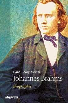 Hans-Georg Klemm: Johannes Brahms, Buch