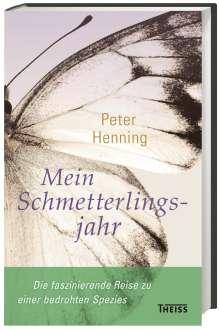 Peter Henning: Mein Schmetterlingsjahr, Buch