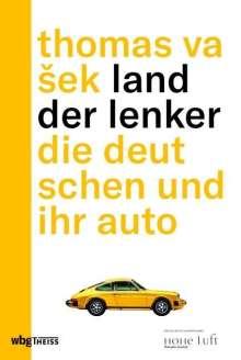 Thomas Vasek: Land der Lenker, Buch