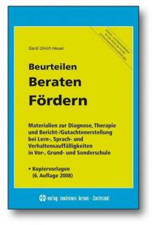 Gerd U Heuer: Beurteilen - Beraten - Fördern, Buch