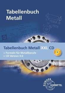 Roland Gomeringer: Tabellenbuch Metall XXL CD, Buch