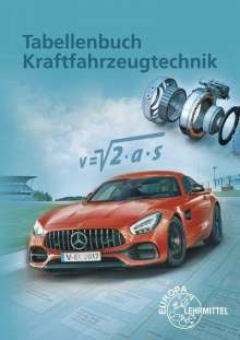 Richard Fischer: Tabellenbuch Kraftfahrzeugtechnik, Buch