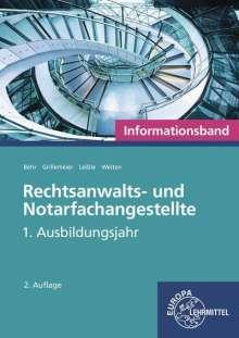 Andreas Behr: Rechtsanwalts- und Notarfachangestellte, Informationsband, Buch