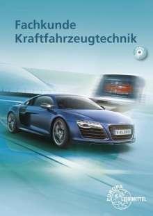 Richard Fischer: Fachkunde Kraftfahrzeugtechnik, Buch