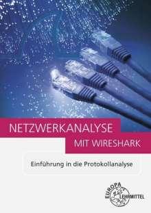 Bernhard Hauser: Netzwerkanalyse mit Wireshark 2.0, Buch