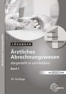 Susanne Nebel: Lösungen zu 61133: Ärztliches Abrechnungswesen dargestellt in Lernfeldern Band 1, Buch