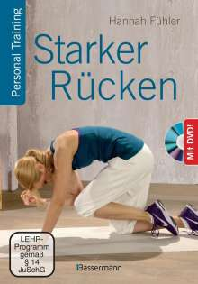 Hannah Fühler: Starker Rücken + DVD, Buch