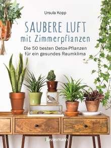 Ursula Kopp: Saubere Luft mit Zimmerpflanzen, Buch