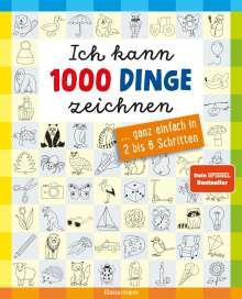 Norbert Pautner: Ich kann 1000 Dinge zeichnen. Kritzeln wie ein Profi!, Buch