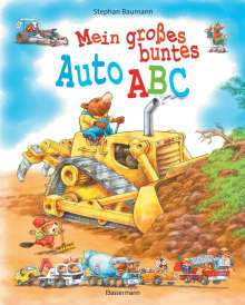 Stephan Baumann: Mein großes buntes Auto-ABC, Buch