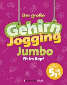 Eberhard Krüger: Der große Gehirnjogging-Jumbo - bestes Training für den Kopf, Buch