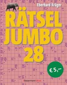 Eberhard Krüger: Rätseljumbo 28, Buch