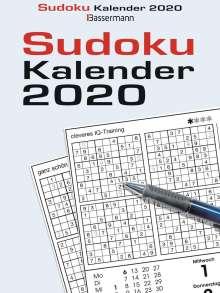 Eberhard Krüger: Sudokukalender 2020 Abreißkalender, Diverse