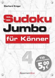 Eberhard Krüger: Sudokujumbo für Könner 4, Buch