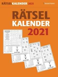 Eberhard Krüger: Rätselkalender 2021 Abreißkalender, Diverse