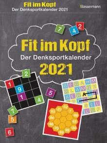Eberhard Krüger: Fit im Kopf 2021 - der Denksport-Kalender, Diverse