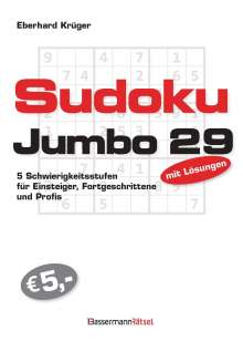 Eberhard Krüger: Sudokujumbo 29, Buch
