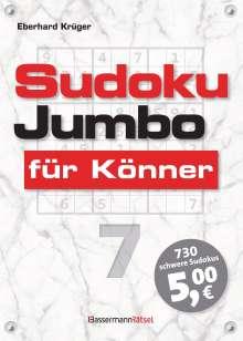 Eberhard Krüger: Sudokujumbo für Könner 7, Buch