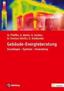 Martin Pfeiffer: Gebäude-Energieberatung, Buch