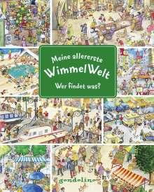Meine allererste WimmelWelt - Wer findet was?, Buch