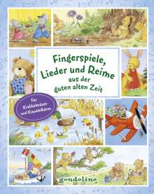 Fingerspiele, Lieder und Reime aus der guten alten Zeit, Buch