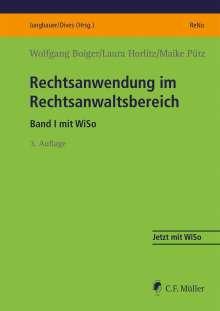 Wolfgang Boiger: Rechtsanwendung im Rechtsanwaltsbereich, Buch