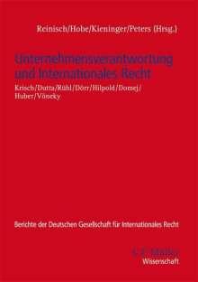 Nico Krisch: Unternehmensverantwortung und Internationales Recht, Buch