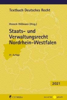 Hinnerk Wißmann: Staats- und Verwaltungsrecht Nordrhein-Westfalen, Buch