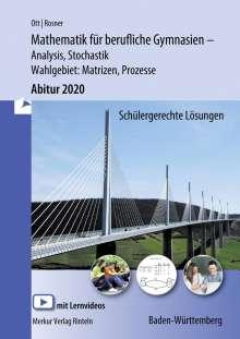 Roland Ott: Mathematik für berufliche Gymnasien. Abitur 2017. Baden-Württemberg, Buch