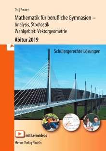 Roland Ott: Mathematik für berufliche Gymnasien - technische Richtung. Abitur 2016. Baden-Württemberg, Buch