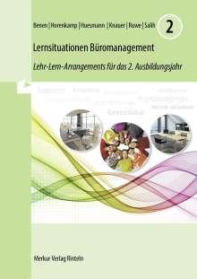 Dieter Benen: Lernsituationen Büromanagement 2. 2. Ausbildungsjahr, Buch