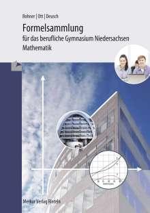 Roland Ott: Formelsammlung - Mathematik für das berufliche Gymnasium, Buch
