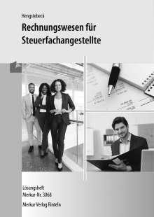 Klaus Hengstebeck: Rechnungswesen für Steuerfachangestellte - Lösungen, Buch