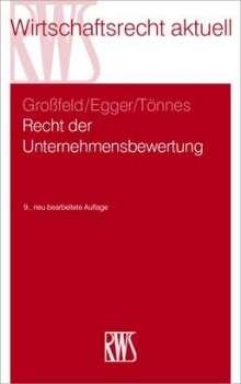 Bernhard Großfeld: Recht der Unternehmensbewertung, Buch