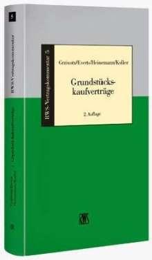 Herbert Grziwotz: Grundstückskaufverträge, Buch