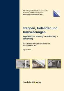 Walter Gutjahr: Treppen, Geländer und Umwehrungen., Buch