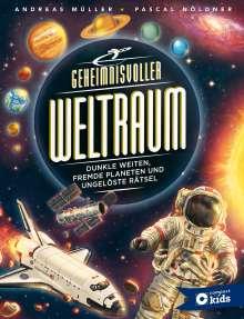 Andreas Müller: Geheimnisvoller Weltraum, Buch