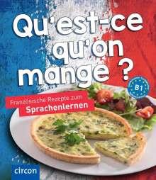 Marc Blancher: Qu'est-ce qu'on mange?, Buch