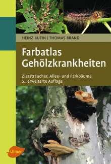 Heinz Butin: Farbatlas Gehölzkrankheiten, Buch