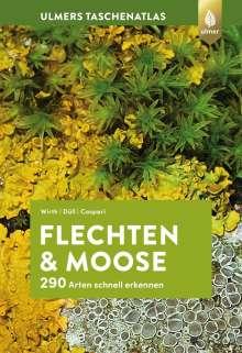 Volkmar Wirth: Ulmers Taschenatlas Flechten und Moose, Buch