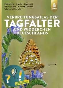 Rolf Reinhardt: Verbreitungsatlas der Tagfalter und Widderchen Deutschlands, Buch