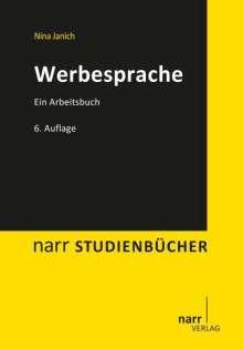 Nina Janich: Werbesprache, Buch