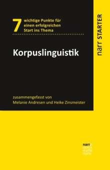 Melanie Andresen: Korpuslinguistik, Buch