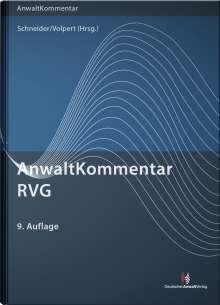 Peter Fölsch: AnwaltKommentar RVG, Buch