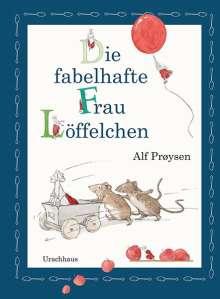 Alf Prøysen: Die fabelhafte Frau Löffelchen, Buch